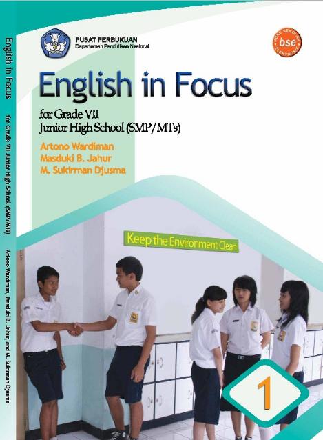 Download Buku Siswa KTSP SMP dan MTs Kelas 7 English in Focus Tahun 2016