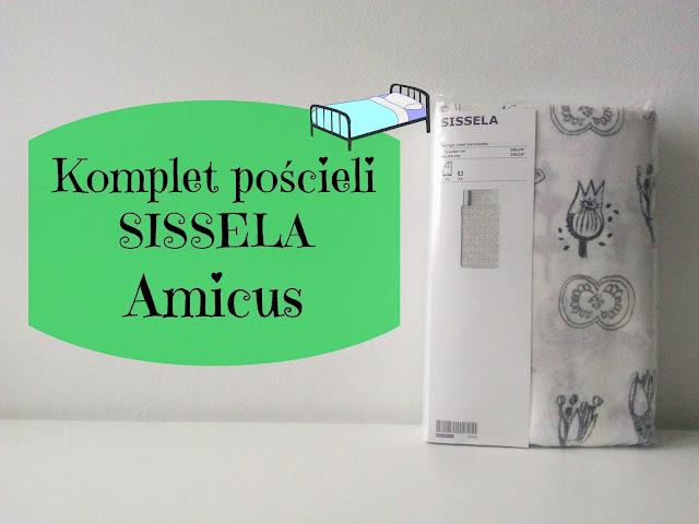 RECENZJA: Komplet pościeli SISSELA | IKEA | Amicus