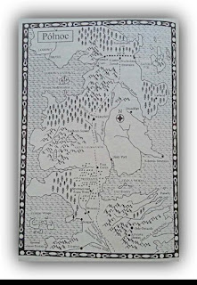 George R R Martin Gra o tron mapa