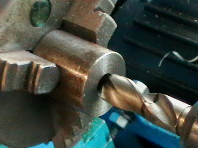 drilling collet thread receiver