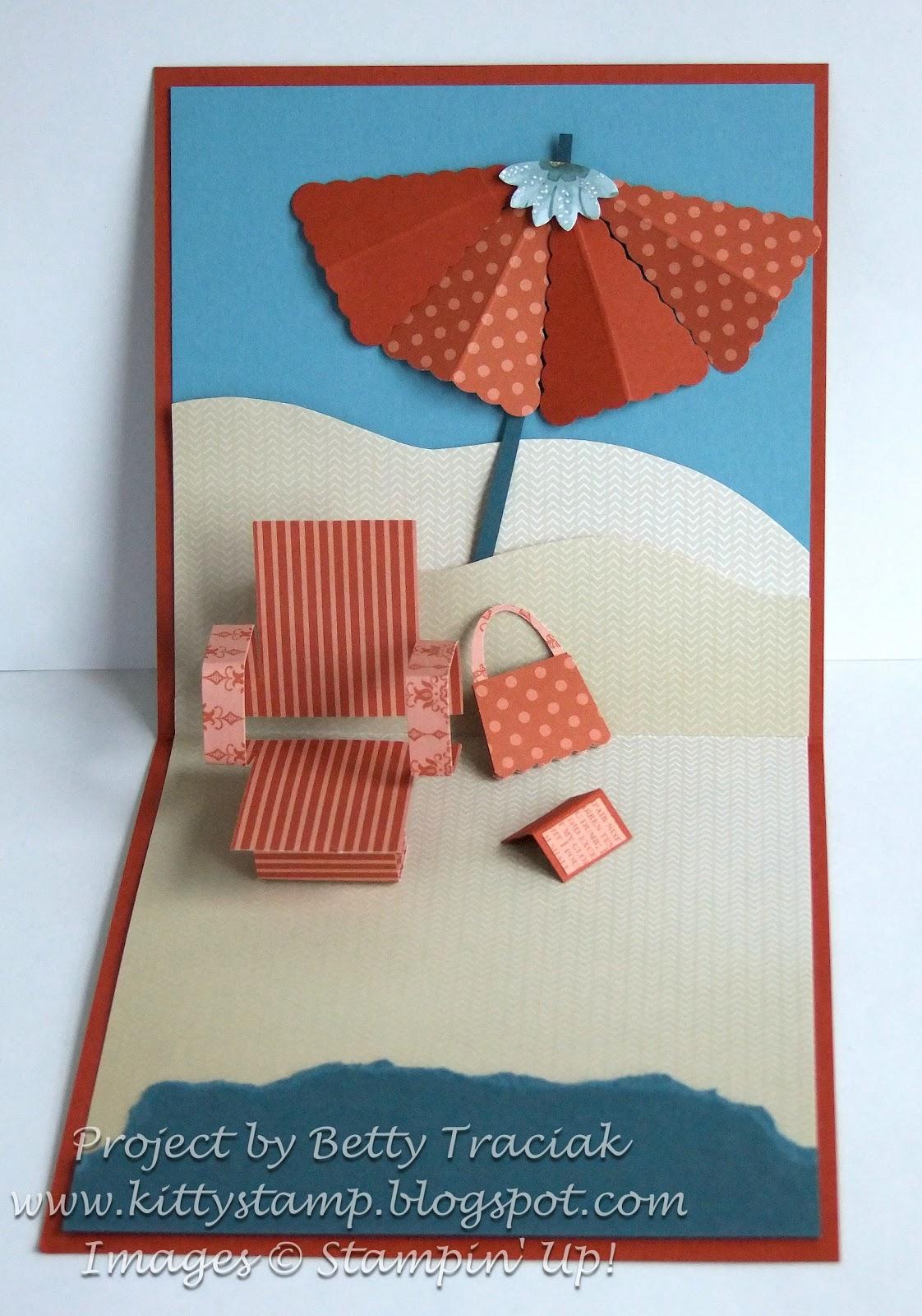 Pop Up Chair Nichols Stone Rocking Value Kitty Stamp Peekaboo Frame Beach Tutorial