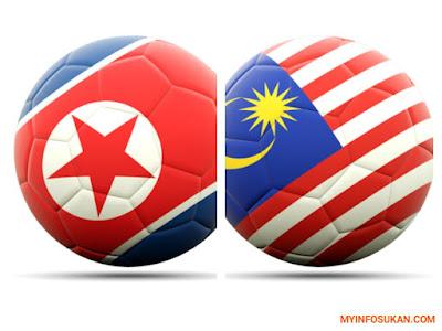 Live Streaming Korea Utara vs Malaysia Kelayakan Piala Asia 2019