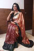Udaya Bhanu lookssizzling in a Saree Choli at Gautam Nanda music launchi ~ Exclusive Celebrities Galleries 040.JPG