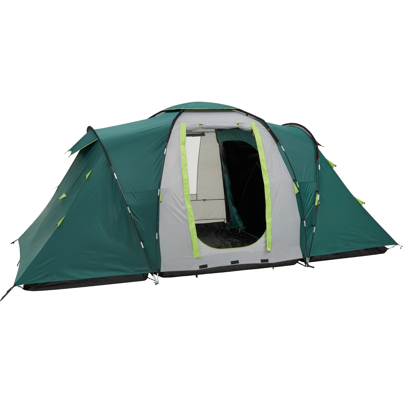 ... vis a vis (Bedrooms Either side of a central living area) design the Coleman Spruce Falls 4 offers the weekend or festival c&er a versatile tent.  sc 1 st  IBEX C&ing Blog & IBEX Camping Blog: Coleman Tents for 2017