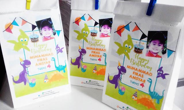 printed paper bag birthday