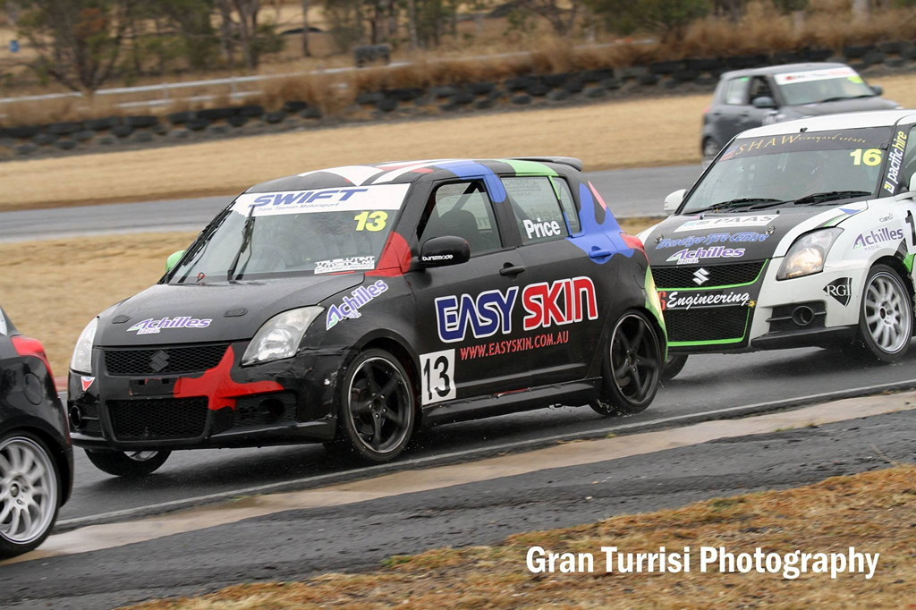 Australian Swift Racing Series, suzuki swift, wyścigi