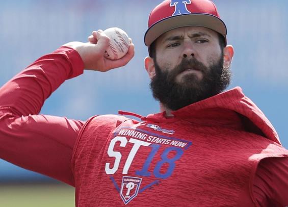 Jake Arrieta makes Phillies debut
