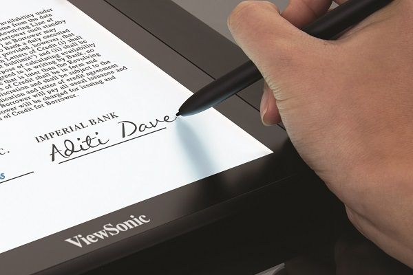 ViewSonic PD1611 - A superior and intuitive handwriting experience