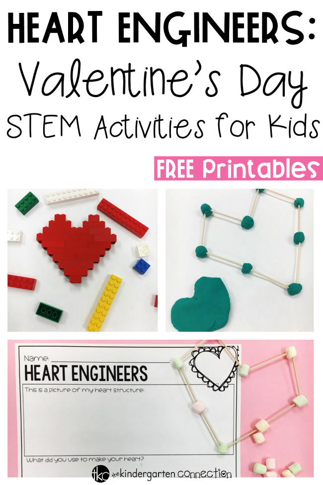 HEART ENGINEERS: VALENTINE'S DAY STEM ACTIVITIES | TEACHING LITTLE ...