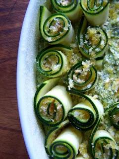 Sformato con riccioli di zucchine senza glutine