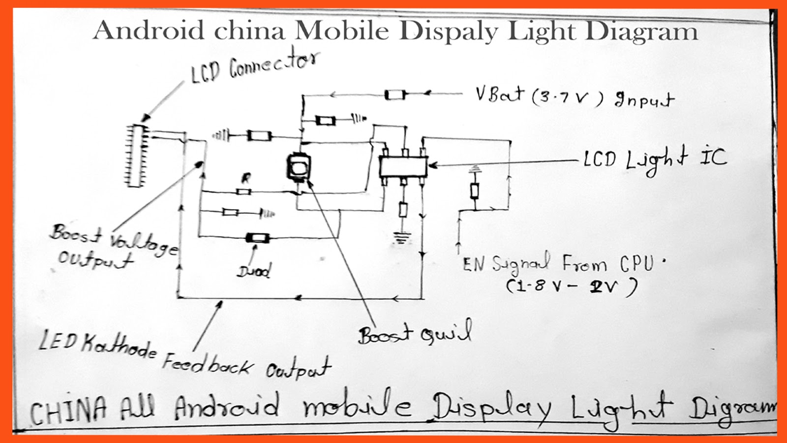 All China Android Mobile Display Light Diagram | Lava karbonn