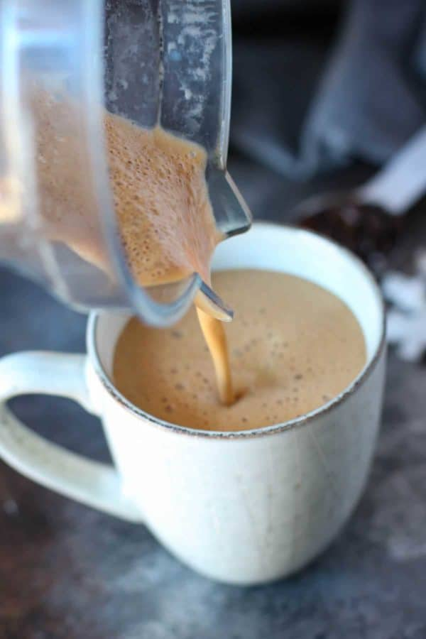 Gut-healing Cinnamon Coconut Latte #cinnamon #drink