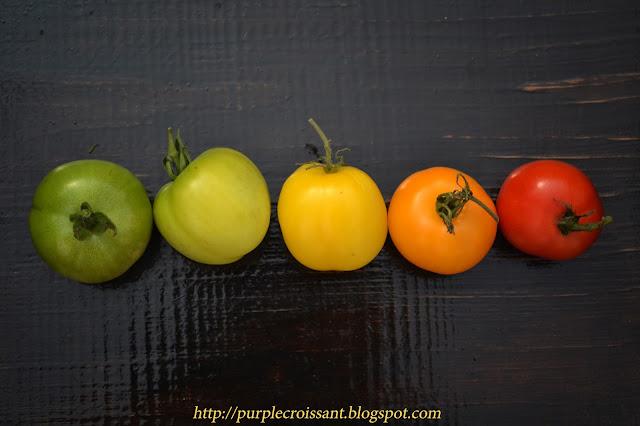 томаты, цветные помидоры