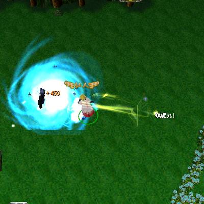 naruto castle defense 6.0 Rasengan