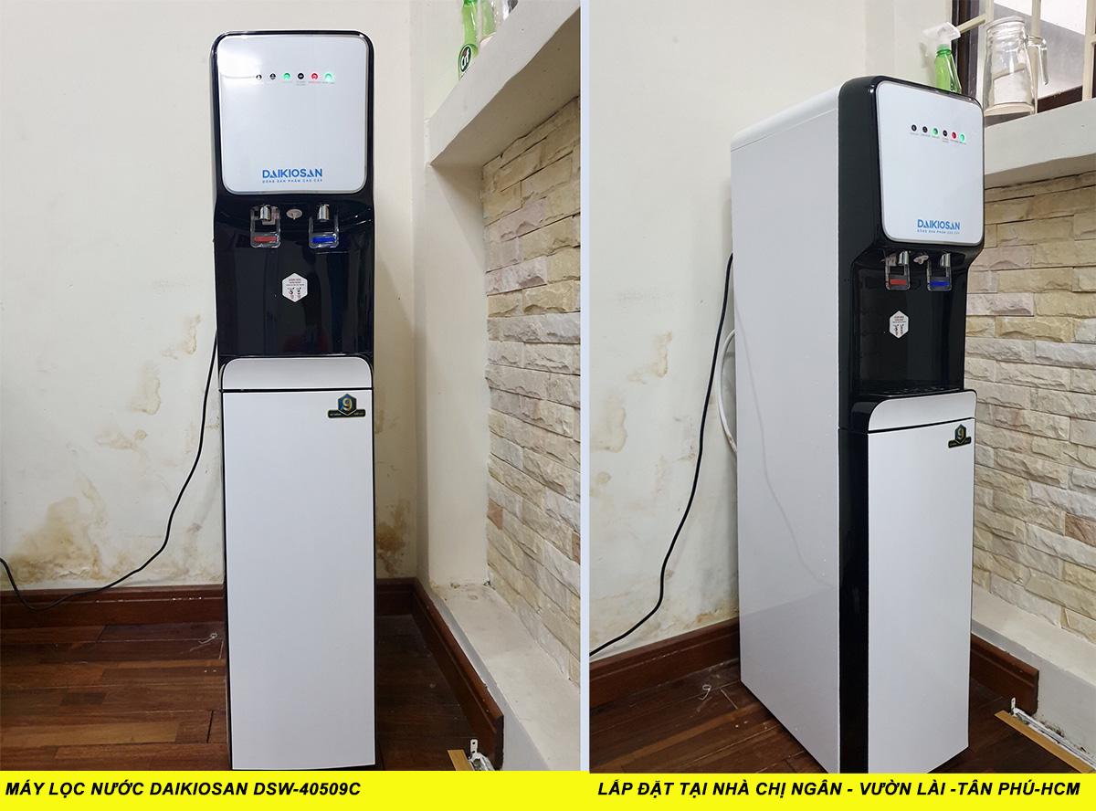 1. Máy lọc nước nóng lạnh Daikiosan DSW-40509C 9 cấp lọc tại nhà chị Ngân - Vườn Lài Tân Phú, HCM
