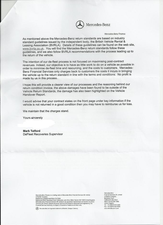 My UK Mercedes Finance Story