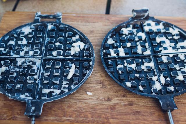 Gear of the Week #GOTW KW 07  ROME Chuckwagon Waffeleisen  Cast-Iron Waffle-Iron  Outdoor-Waffeleisen 09