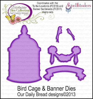 "ODBD ""Bird Cage and Banner Dies"""