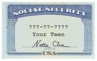 Teen Social Security Card