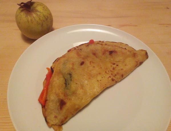 come preparare la piadina con verdure vegana