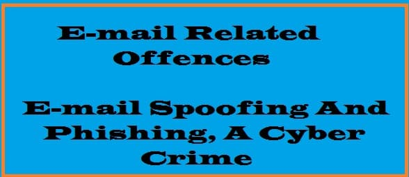 cyber, crime, phishing, spoofing, email