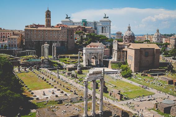 Foro romano. 20 cosas que saber de Roma.
