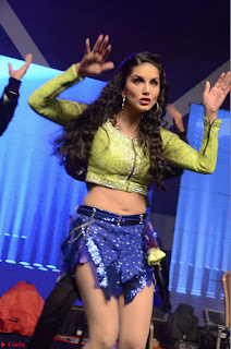 Sunny Leone Dancing on stage At Rogue Movie Audio Music Launch ~  003.JPG