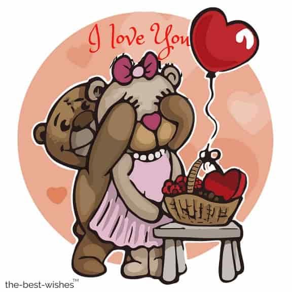 good morning i love you with teddies image