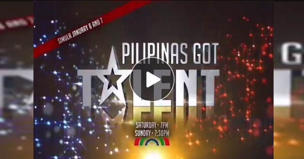 The Most-Awaited Reality Competition, Pilipinas Got Talent Will Now Be Airing In Early January!