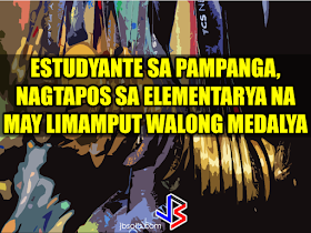 """At this age where children love to stay on the couch holding their tablets and mobile phones, an elementary student chooses to be active in school and swimming which made him the """"heaviest"""" elementary graduate on earth.   A student in Mabalacat, Pampanga raked 58 medals from academic and different fields. On his Facebook post, he said that this time it's heavier compared to the medals he got last year. Joshua Santiago, 12, graduated in Elementary at Mabiga Mabalacat Elementary School in Mabalacat Pampanga earlier this month. His video post with over a million views as of this writing  shows how many medals he got. Most of his medals are from the swimming competitions where he joined and won including a chance to participate at the Palarong pambansa.  His dedication and determination paid off as he graduated. This little guy inspired everyone around him especially his teammates and classmates. To collect more than 10 medals   would be enough but for him it was unbelievable.    In a facebook status, his mother made a clarification that those 58 medals was from his being an excellent swimmer and from his academic excellence. He was also awarded as """"Athlete of the Year"""".    Recommended:  A cleaner in Saudi Arabia was mocked on social media after a photo of him looking at jewelry went viral. The Department of Health expressed concern  over possible mental illness among the young people due to the alarming amount of time they spend on social media.  According to DOH spokesman, Eric Tayag, while social media is a way to connect to other people, it also has adverse effects.  Tayag also said that most juveniles that are fond of social media are also involved in bullying, angst and depression.  Bullying and depression can start with issues about love, relationship with the same sex, unplanned pregnancy, problems at school, at home and health problems.  Common symptoms that a person is experiencing depression is that  they do not do daily activities normally like taking a bath"""