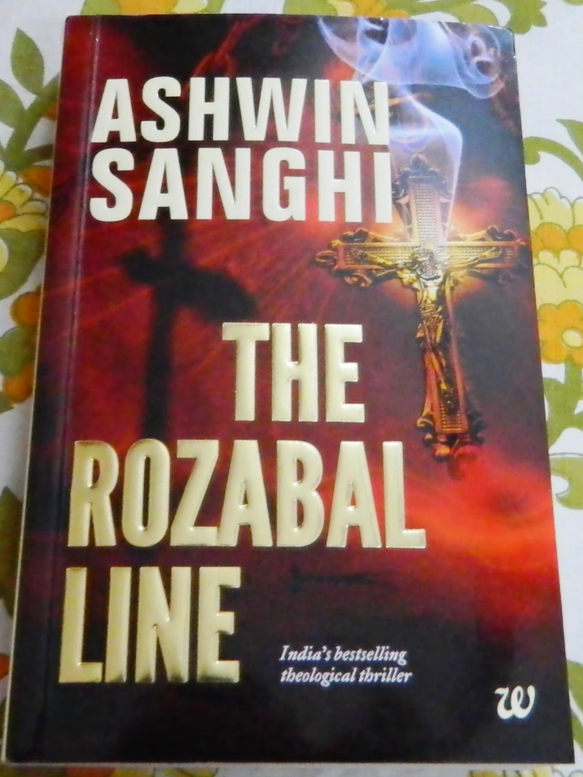 The Rozabal line by Ashwin Sanghi cover