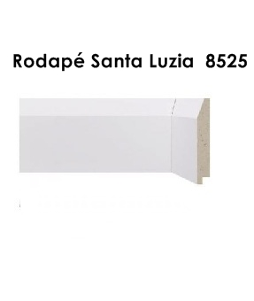 Rodapé Branco no Campo Belo
