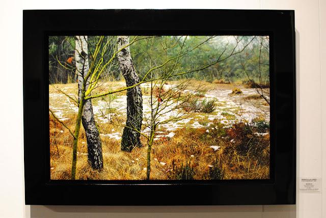 'De laatste sneeuw', Walter Elst, Morren Galleries
