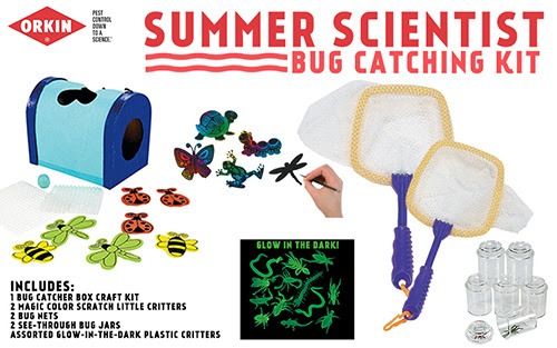 Orkin Summer Scientist bug catching kit