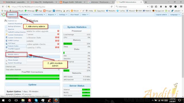 Cara Install Custom Contex Module di FreePBX-anditii.web.id