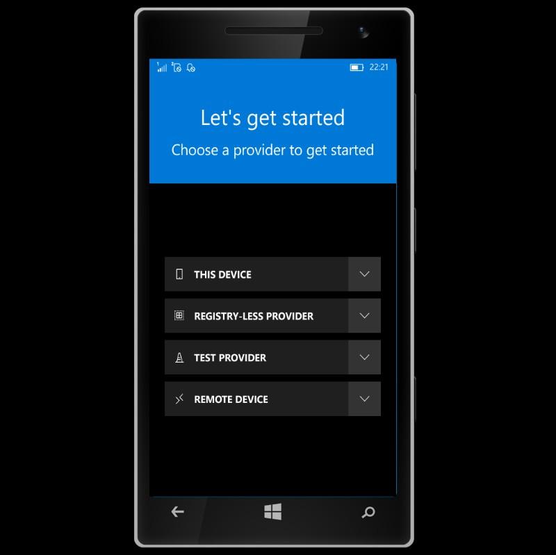 InteropTools RC 3 para Windows 10 mobile