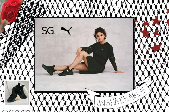 "SG x PUMA® ""STRONG GIRL"" COLLECTION – First Collection Designed by SELENA  GOMEZ for PUMA 22211edea"