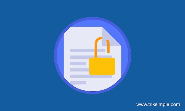 Cara Membuat Credit Link Template Otomatis Redirect Ketika diganti dan dihapus