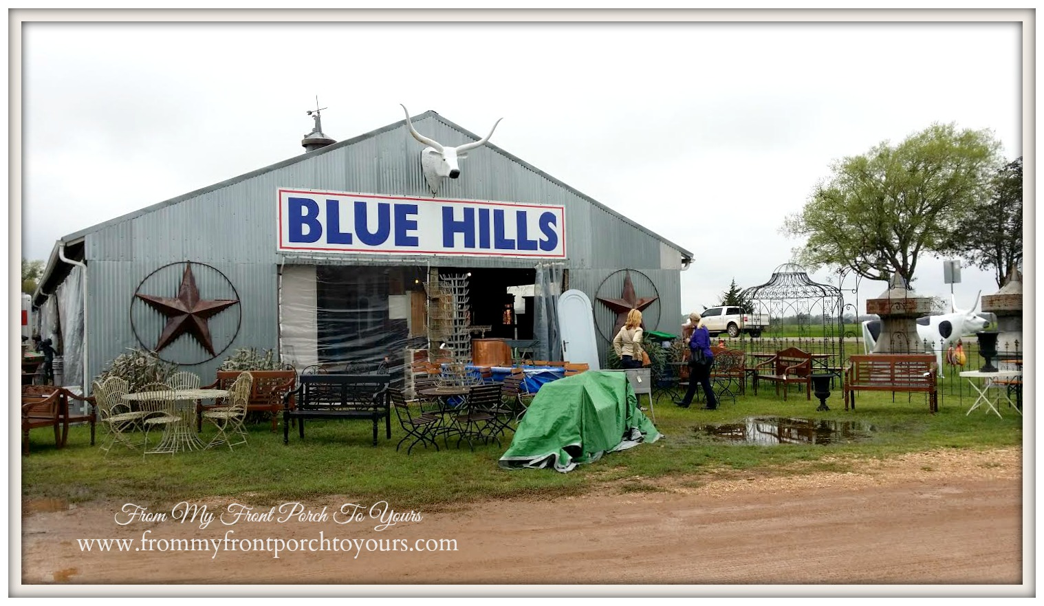 Round Top- Blue Hills- Antiquing-From My Front Porch To Yours
