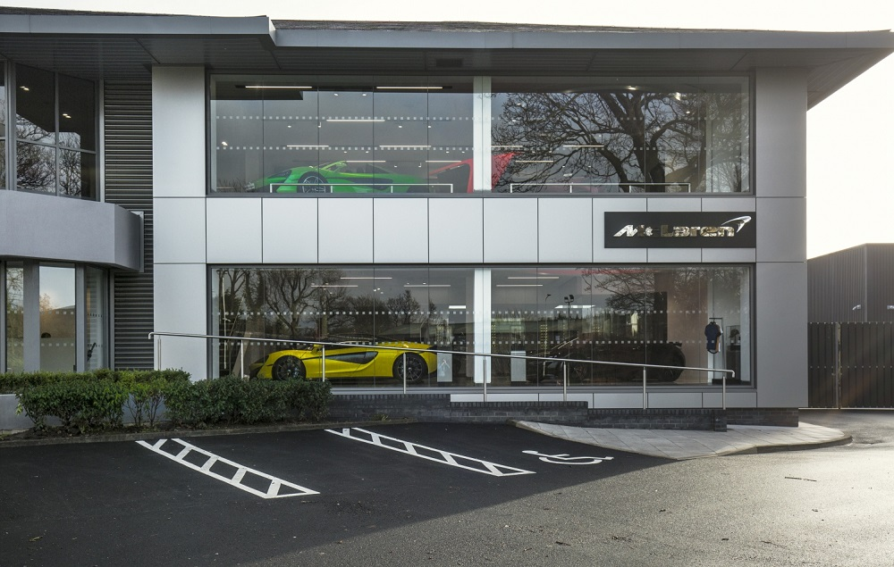 McLaren Manchester opens its doors in Wilmslow