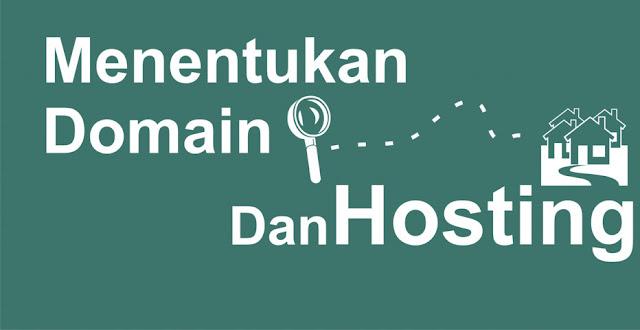 hosting dan domain cara memilihnya