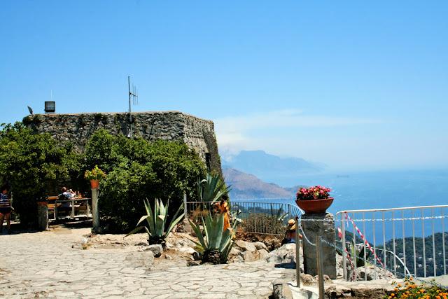 cielo, belvedere di Anacapri, vegetazione, pavimento