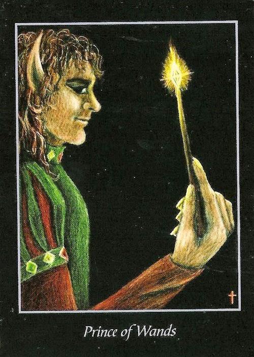 Prince Wand: Tarot Notes: May 2015