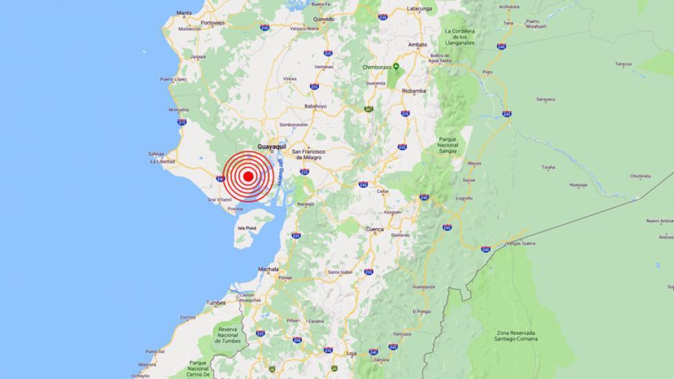 Terremoto en Ecuador de Magnitud 5.9 y Alerta de Tsunami (Hoy Lunes 4 Febrero 2019) Sismo Temblor Epicentro - Alausi - Chimborazo - www.igepn.edu.ec