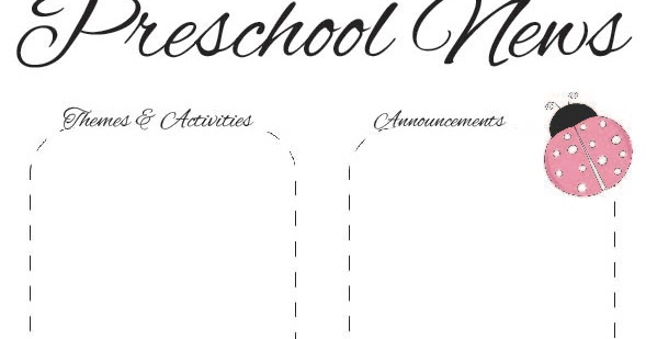Spring+Newsletter+2+PS October Kindergarten Newsletter Template on employee free word, free downloadable preschool, printable downloadable, lds relief society,
