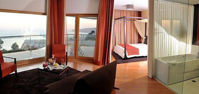 Hotel Miramar Sul em Nazaré - quarto