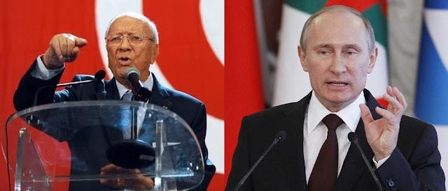 """يوميّ 23 و24 جانفي: """"بوتين"""" يرسل وزير خارجيته للقاء """"السبسي"""""""