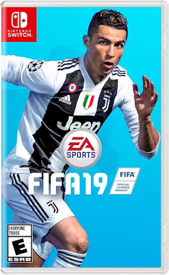 Fifa 19 Game Cover Nintendo Switch Standard