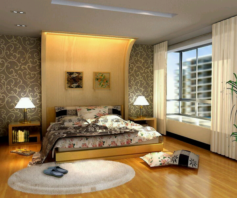 Modern Beautiful Bedrooms Interior Decoration Designs