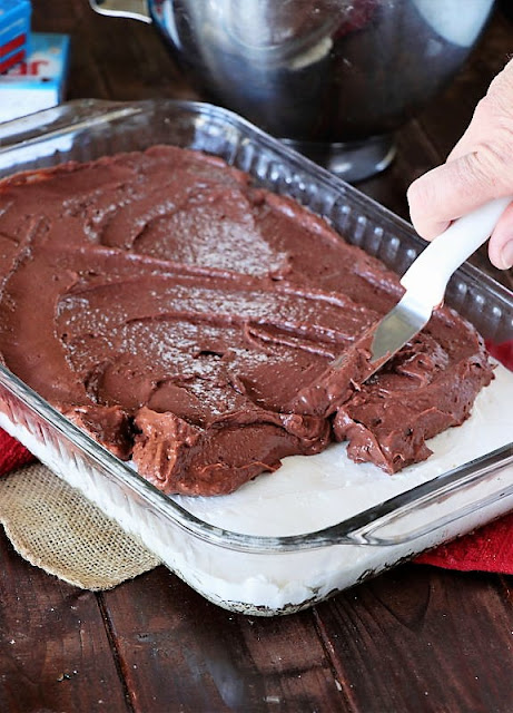 How to Make Chocolate Lush Dessert Image